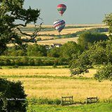 Balloons over West Sussex