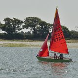 Sailing in Chichester harbour