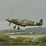 Spitfire over Goodwood