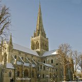 Chichester cathedral winter
